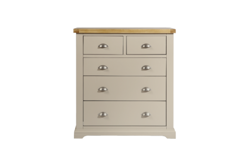Melbourne Truffle 2 Over 3 Drawer Chest